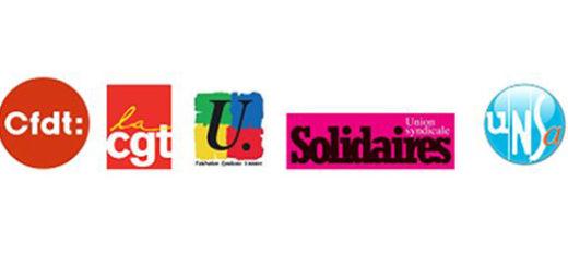 Image result for سندیکاهای فرانسه